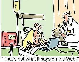 יחסי רופא-מטופל אינטרנט