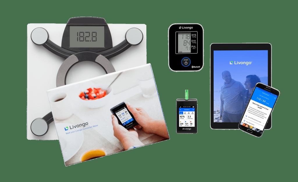 ערכת מוצרי ליבונגו - מד סוכר, אפליקציה ומשקל