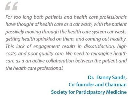 """מה המהות של רפואה משתפת על פי ד""""ר דני סנדס"""